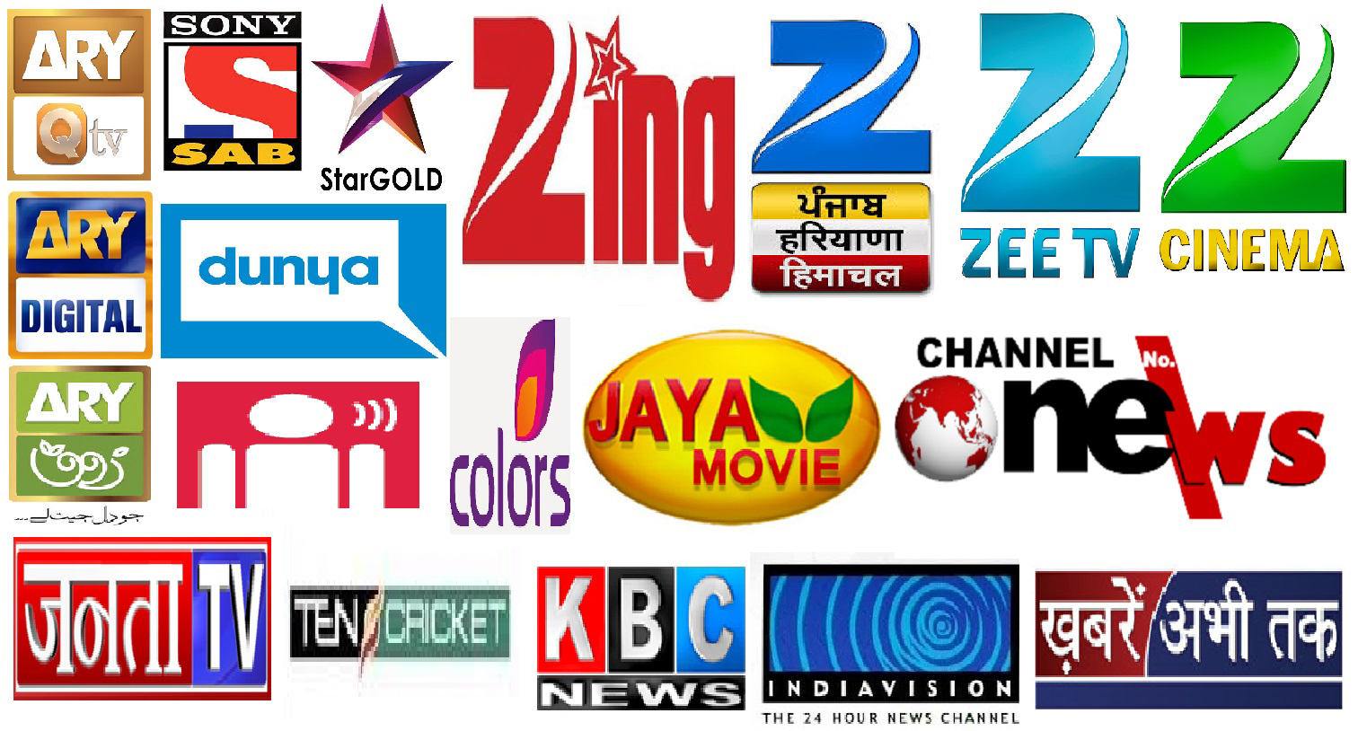 Indian Channels List, TV Box Indian Channels List