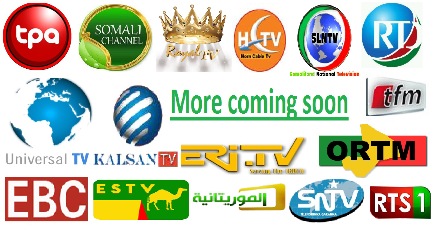 Somali Channels List, TV Box Somali Channels List